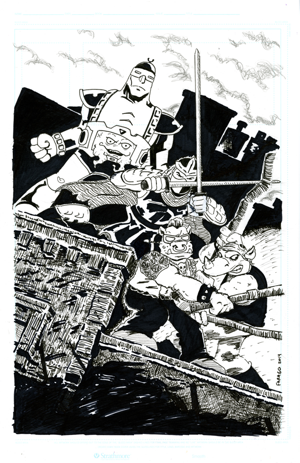 TMNT Villains Commission